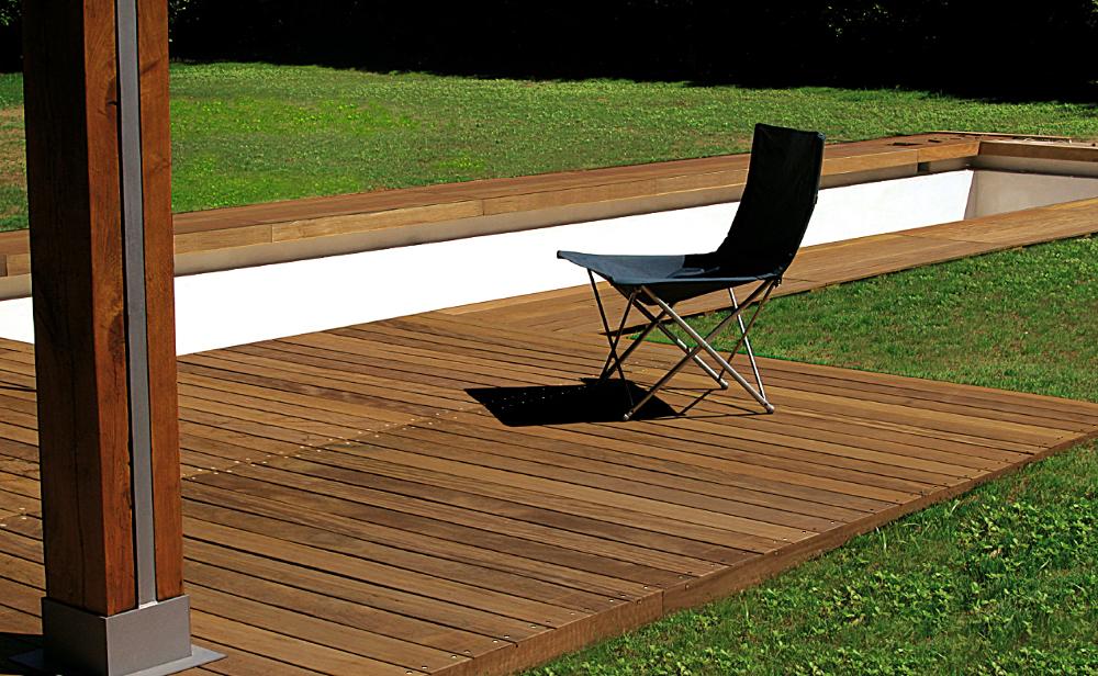 Pavimenti legno esterno cool pavimenti in teak per for Prezzi parquet gazzotti