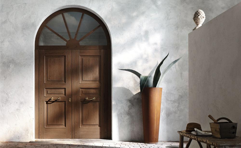 porta-blindata-legno-doppiobattente-oikos-modello-Evolution [©OIKOS] aria-label=