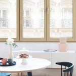 serramenti-finestre-legno-chiaro-Internorm-modello-HF410_2 [©INTERNORM]