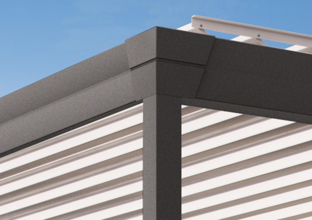 pergola-tenda-da-sole-modello-Corradi-Eteria-dettaglio2_1 [©CORRADI] aria-label=